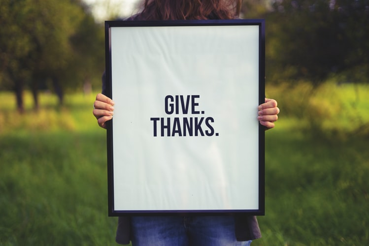 5 Ways to Incorporate Gratitude and Giving Into Your Everyday Life