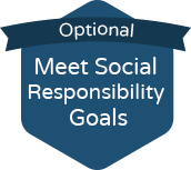 optional: meet social responsibility goals